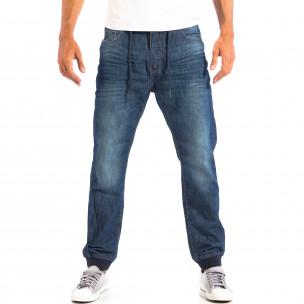 Blugi House Jogger albaștri pentru bărbați