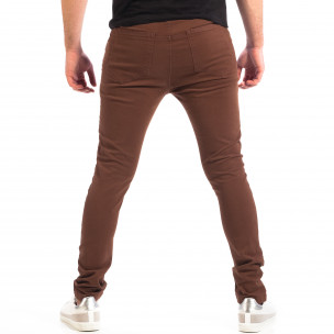 Pantaloni bărbați House maro  2