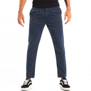 Pantaloni bărbați RESERVED albaștri