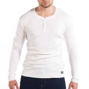 Bluză House albă elastică pentru bărbați