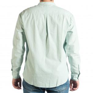 Cămașă cu mânecă lungă bărbați RESERVED verde  2