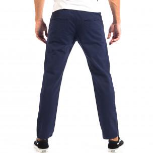 Pantaloni albaștri Chino pentru bărbați RESERVED 2