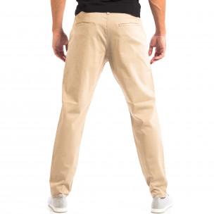 Pantaloni bărbați RESERVED bej  2