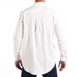 Cămașă albă cu imprimare Regular fit RESERVED pentru bărbați 2