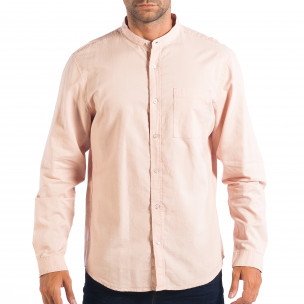 Cămașă roz pentru bărbați RESERVED tip Regular