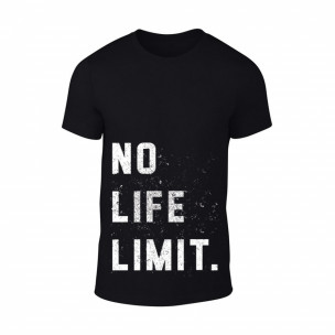 Tricou pentru barbati Black White negru, mărimea S