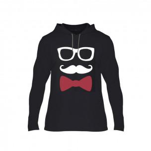 Tricou pentru barbati Hipster Parts negru, Mărime S