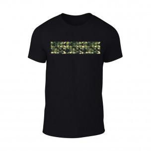 Tricou pentru barbati Military negru
