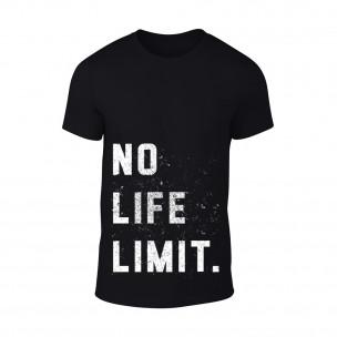 Tricou pentru barbati No Life Limit negru