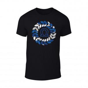 Tricou pentru barbati Omega negru