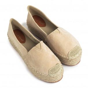 Espadrile de dama Sweet Shoes bej 2