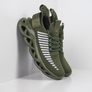 Adidași de bărbați Rogue verde militar Kiss GoGo