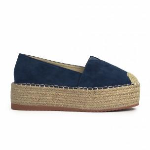Espadrile de dama Sweet Shoes albastră