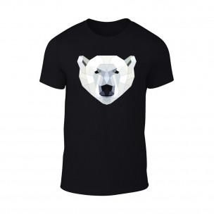 Tricou pentru barbati Polar Bear negru