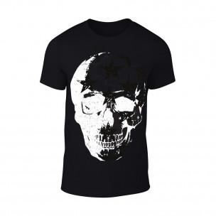 Tricou pentru barbati Skull negru