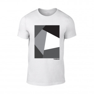 Tricou pentru barbati Teeman alb