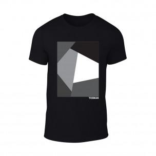 Tricou pentru barbati Teeman negru