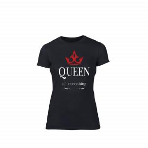 Tricou de dama Queen negru, mărimea M