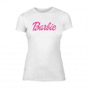 Tricou de dama Barbie alb