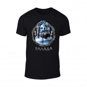 Tricou pentru barbati Zeus negru