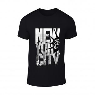 Tricou pentru barbati New York negru