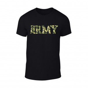 Tricou pentru barbati Army negru