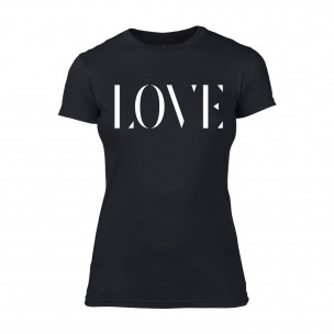 Tricou de dama Love negru