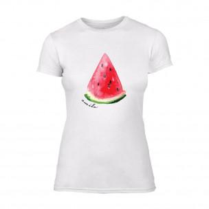 Tricou de dama Watermelon alb