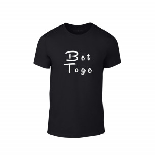 Tricou pentru barbati Better Together negru, mărimea XL