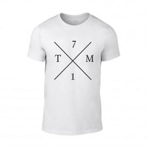 Tricou pentru barbati TM71 alb