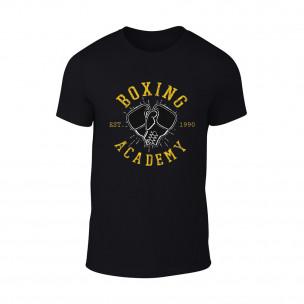 Tricou pentru barbati Boxing Academy negru TEEMAN
