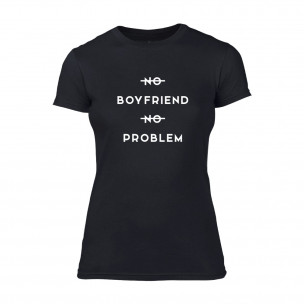 Tricou de dama No Problem negru