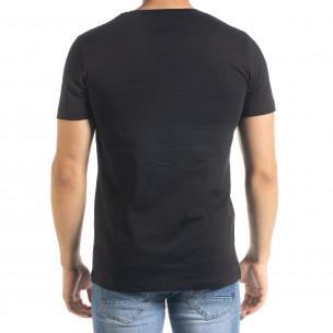 Tricou bărbați Clang negru  2
