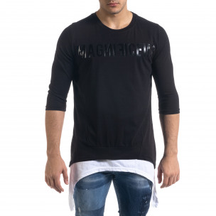 Tricou bărbați Open negru