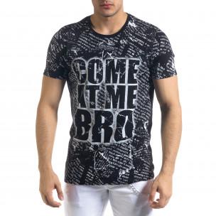 Tricou bărbați Lagos negru