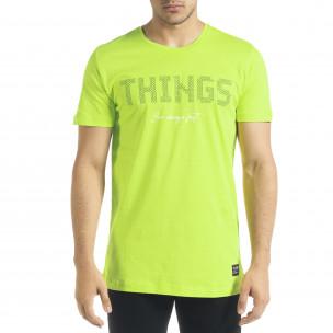 Tricou bărbați Clang verde