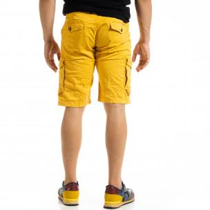 Pantaloni scurți bărbați Blackzi camel  2