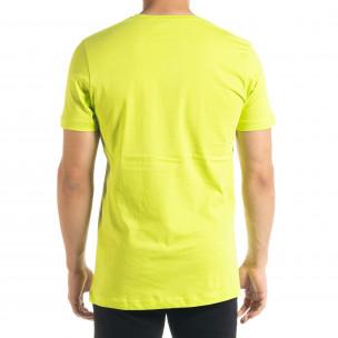 Tricou bărbați Clang verde  2
