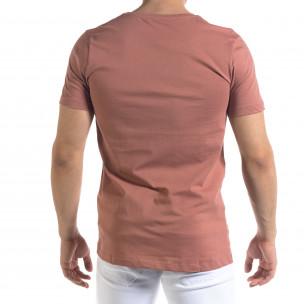 Tricou bărbați Clang roz  2