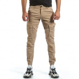Pantaloni cargo bărbați Blackzi bej