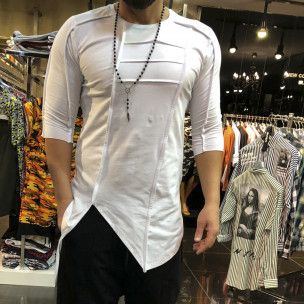 Tricou bărbați Open alb