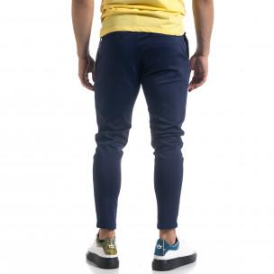 Pantaloni bărbați Open albaștri 2