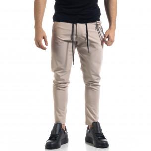 Pantaloni bărbați Open bej