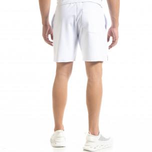 Pantaloni scurți bărbați SAW albi  2