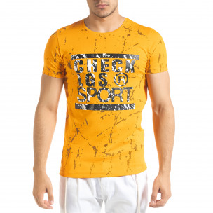 Tricou bărbați Lagos orange