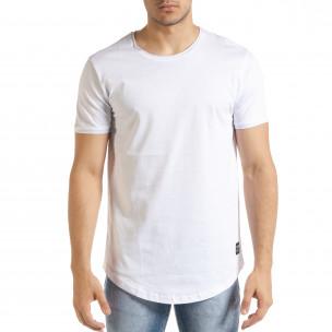 Tricou bărbați Clang alb