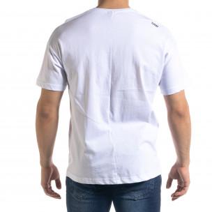 Tricou bărbați SAW alb  2