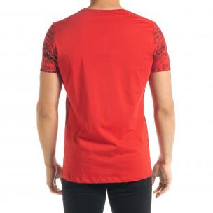 Tricou bărbați Lagos roșu  2
