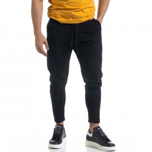 Pantaloni sport bărbați Open negru