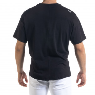 Tricou bărbați SAW negru 2